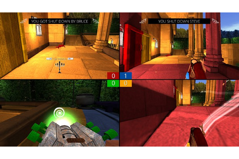 Peeking Mandatory: Splitscreen Shooter Screencheat | Rock ...