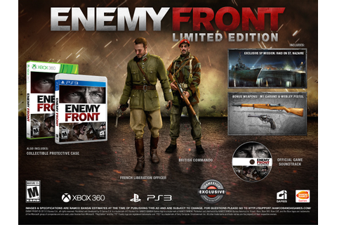 Enemy Front Limited Edition Revealed, Includes Soundtrack ...