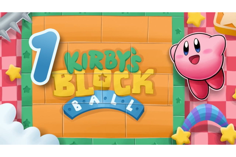 Kirby's Block Ball -Part 1- [Cappy's Stage] - YouTube