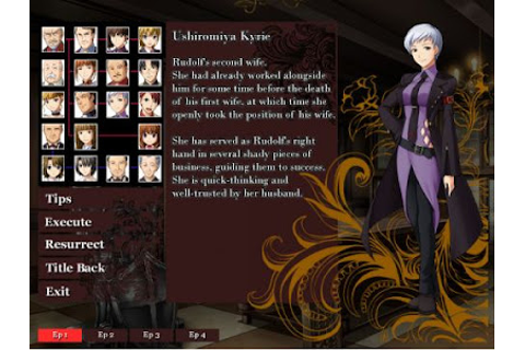 Umineko no Naku Koro ni 1-4 w Free Download PC Game ...