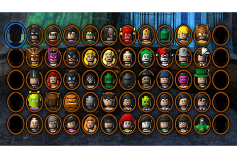 LEGO Batman 2 DC Superheroes - All Characters Unlocked ...