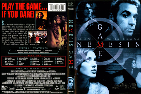 COVERS.BOX.SK ::: Nemesis Game (2003) - high quality DVD ...