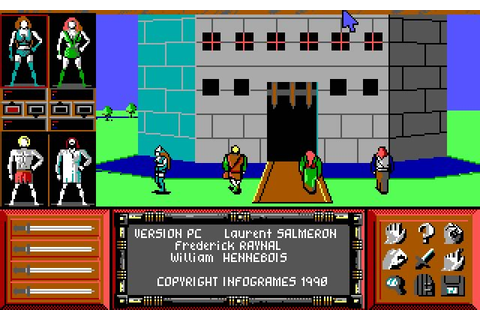 Download Drakkhen rpg for DOS (1989) - Abandonware DOS