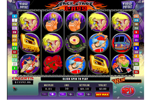 Backstage Pass | Play Backstage Pass Video Slots by Soft ...