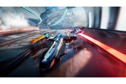 Anti-gravity racing game Antigraviator announced for PS4 ...