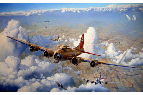 HD B 17 Flying Fortress Wallpaper | Download Free - 129352