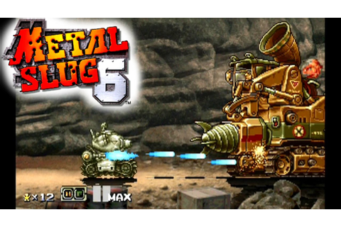 Metal Slug 6 ... (PS2) - YouTube