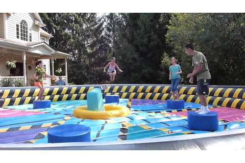 Wipeout Eliminator Inflatable Game Rental in Chicago ...