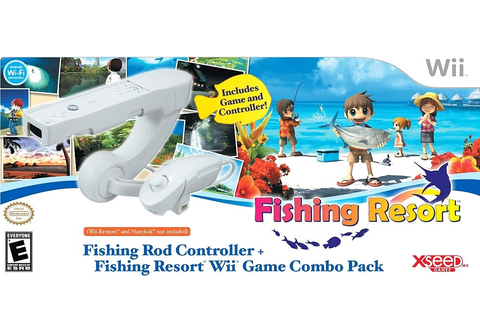 Fishing Resort Game & Fishing Rod Controller - Wii - IGN
