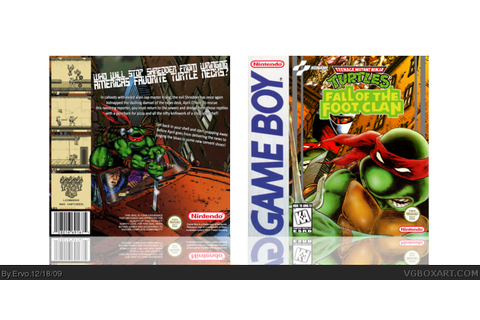 Teenage Mutant Ninja Turtles:Fall of The Foot Clan Game ...