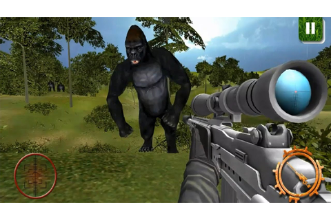 Gorilla Animal Hunting Free By ImpTrax Games Android ...