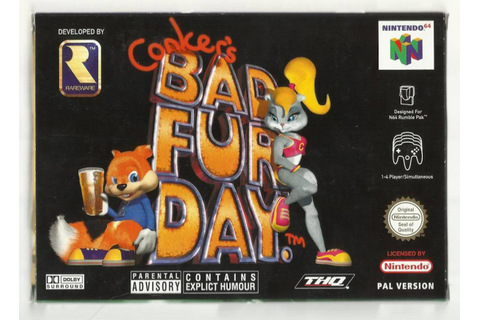 Conker's Bad Fur Day: a Game of Vulgarity | HubPages