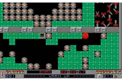 Download Supaplex puzzle for DOS (1991) - Abandonware DOS