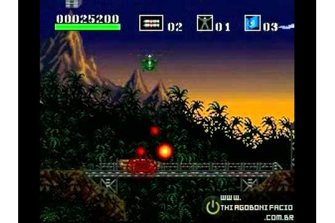 Zerando Choplifter III - Rescue Survive (SNES) - Level ...