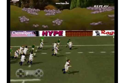 Jonah Lomu Rugby the game on Playstation : Best tries ...