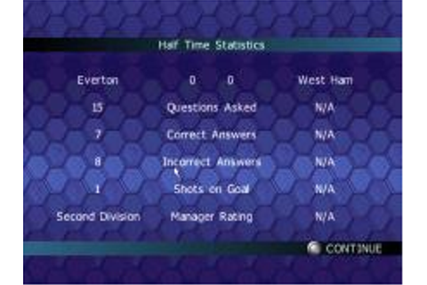 Championship Manager Quiz Download (2001 Sports Game)