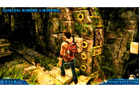Uncharted Golden Abyss - All Treasure Locations - Chapter ...
