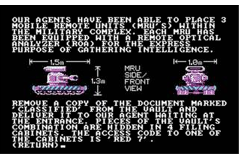 Hacker 2: The Doomsday Papers Download (1986 Adventure Game)