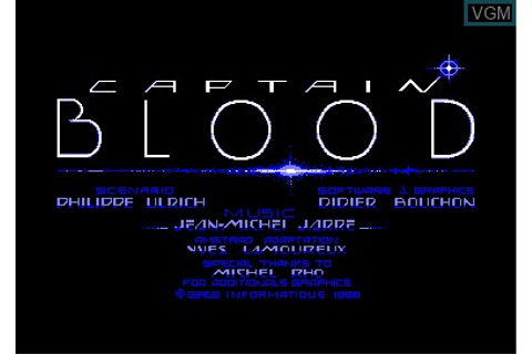 Arche du Captain Blood, L' for Amstrad CPC - The Video ...