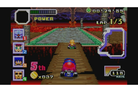 Konami Krazy Racers (GBA / Game Boy Advance) Screenshots