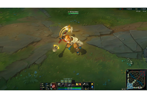 Radiant Wukong Skin - 1350RP - In Game Preview - PBE ...