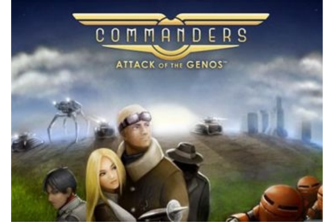Commanders: Attack of the Genos скриншоты