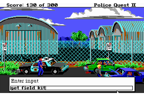 Police Quest II: The Vengeance (1988) MS-DOS game