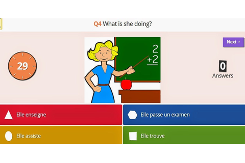 Kahoot trivia game. Students LOVE this! You create your ...