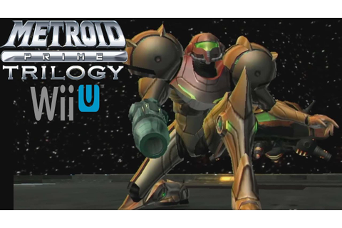 Metroid Prime Trilogy - Wii U Virtual Console Gameplay ...