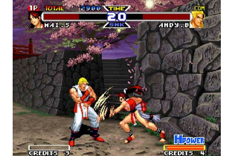 Real Bout Fatal Fury Special (Neo Geo) Screenshots