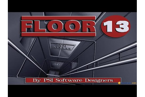 Floor 13 gameplay (PC Game, 1992) - YouTube