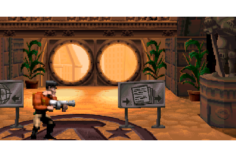 Play retro games online: Agent Armstrong PS1
