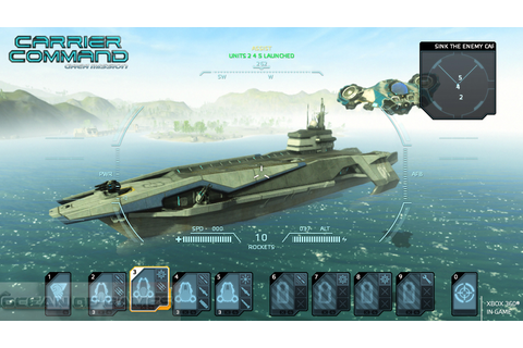 Carrier Command Gaea Mission Download Free - Ocean of Games