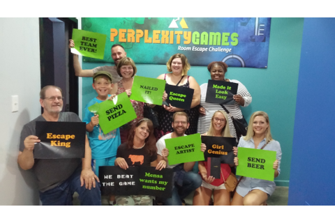 Perplexity Games - #1 Rated Escape Room Cleveland‎