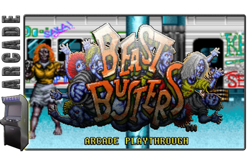 Beast Busters | Arcade | Longplay / Playthrough - YouTube