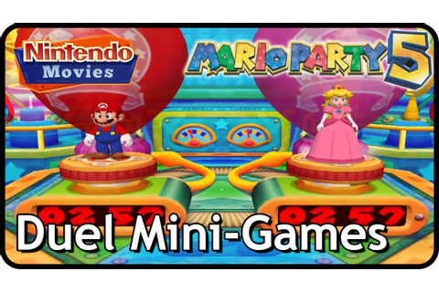 Mario Party 5 - All Duel Mini-Games - YouTube