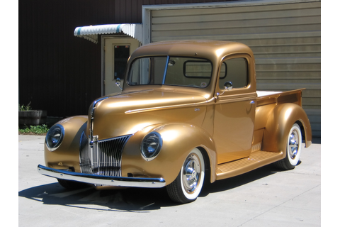1940 Ford Pickup By FastLane Rod Shop Pictures, Photos ...