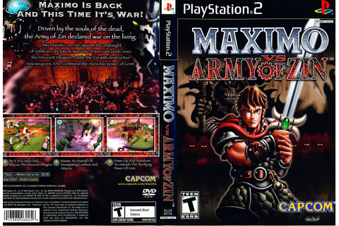 JC VIDEO PS2: MAXIMO VS ARMY OF ZIN