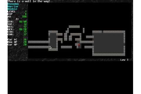 Download Angband - My Abandonware