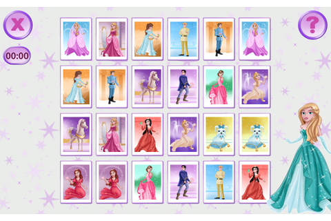 Princess Pairs - Memory Games - Android Apps on Google Play