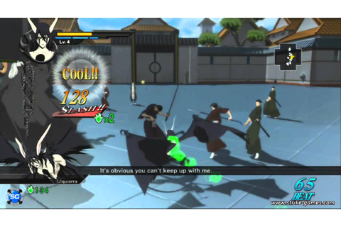 Bleach Soul Resurreccion - Gameplay Ulquiorra - YouTube