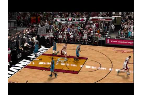 NBA 2K9 PC Thunder @ Heat 2016 Finals Game 7 Q4 1/2 - YouTube