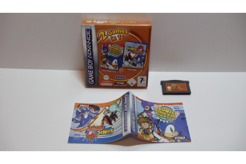 Rion´s Sonicsammlung (Nintendo Game Boy Advance)