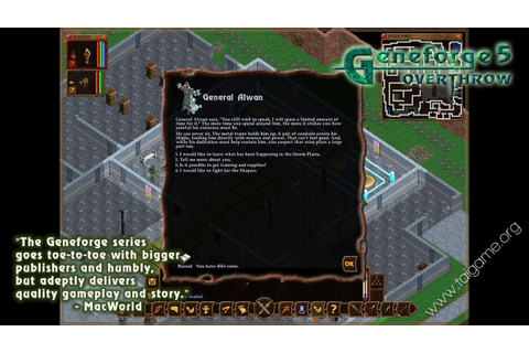 Geneforge 5: Overthrow - Tai game | Download game Nhập vai ...