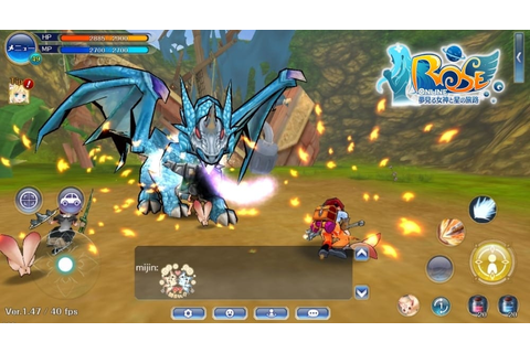 ROSE Online Mobile – Mobile MMORPG based on classic IP ...