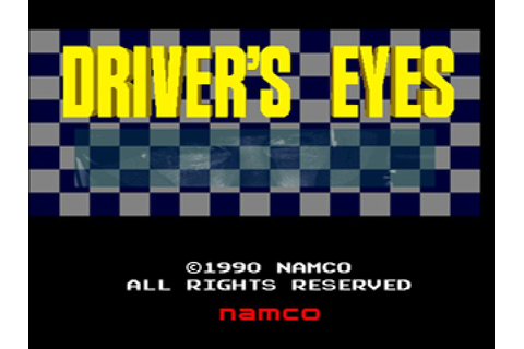 Drivers Eyes (1990) by Namco Arcade game