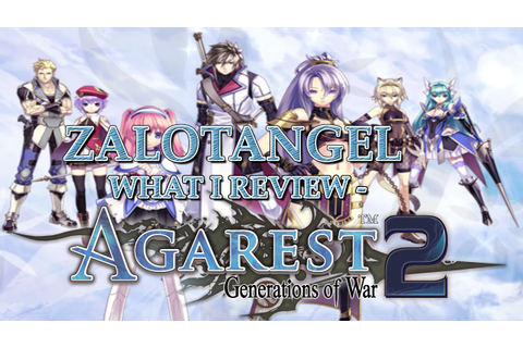 What I Review - Agarest: Generations Of War 2 (PC) - YouTube