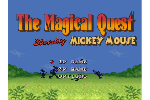 Magical Quest Starring Mickey Mouse, The (Europe) ROM