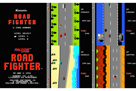 FRGCB - Finnish Retro Game Comparison Blog: Road Fighter ...