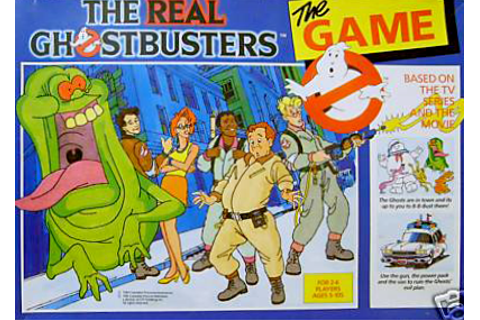 The Real Ghostbusters Board Game (Triotoys) - Ghostbusters ...